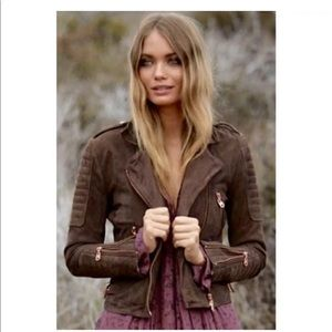 Doma suede brown jacket like new